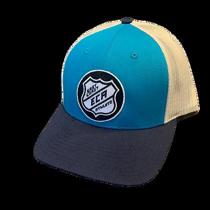 Light Blue and Sand #Hky #Szn Trucker Hat