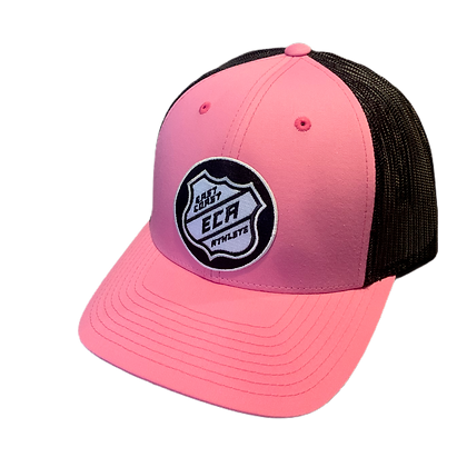Pink and Black #Hky #Szn Trucker Hat