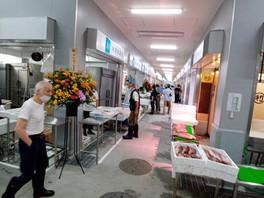 京都の中央卸売市場の水産棟が新しくなりました。
