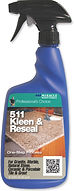 511 Kleen & Reseal is a unique formula designed to remove dirt and soil from natural stone and tile, including vanities, showers and furniture and reseals in one easy step. Kleen & Reseal will cut through dirt and soil with no rinsing, no streaking and no