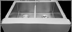 Urban Place R-ZS-3350 Double Bowl Apron Sink