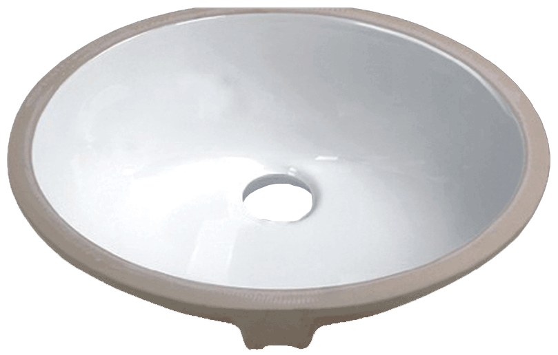 Large Oval Undermount