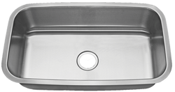 Stainless Steel Large Single Bowl Undermount Sink