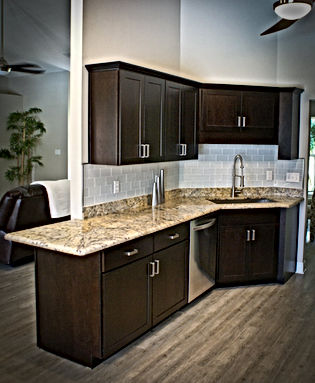 Golden Rivers Granite