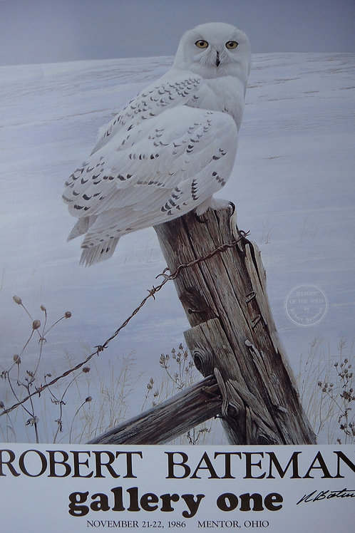 """""""Ready for the Hunt/Images of the Wild"""" Poster by Robert Bateman"""