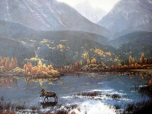 """Canadian Autumn"" by Stephen Lyman, LE Print"