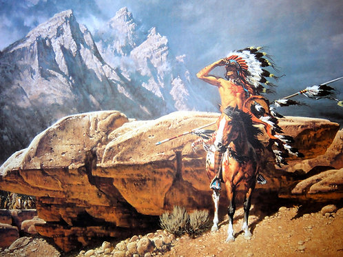 """""""From the Rim"""" by Frank McCarthy LE Print"""