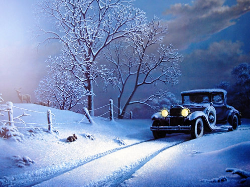 """""""Frosty Homecoming"""" by Dalhart Windberg, LE Print"""