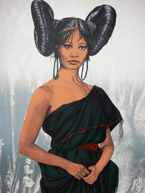 """Maidenhood Hopi"" by Penni Anne Cross, LE Print"