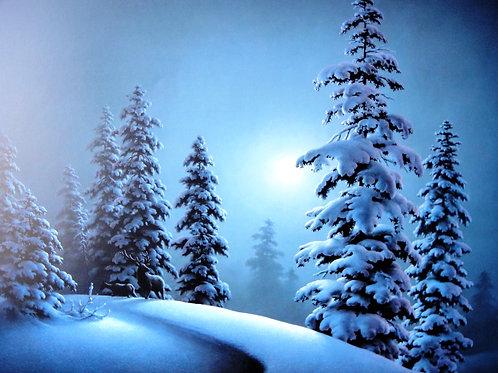 """One Serene Moonlit Night"" by Dalhart Windberg, LE Print"