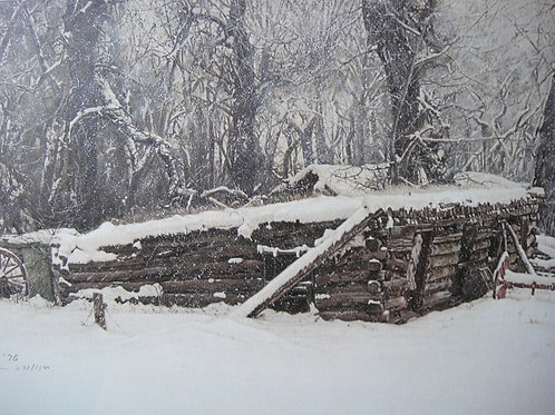 """""""Old Sod House"""" by James Bama, LE Print"""