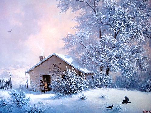 """Nature's Winter Blanket""  by Dalhart Windberg, LE Print"