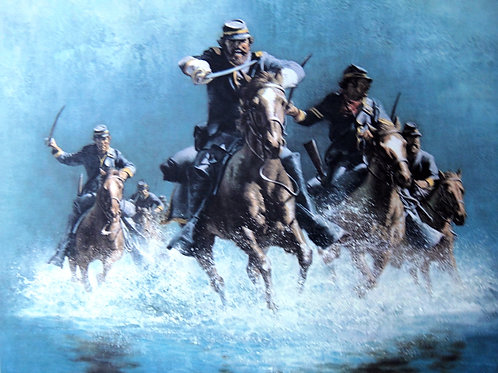 """""""Saber Charge"""" by Frank McCarthy LE Print"""