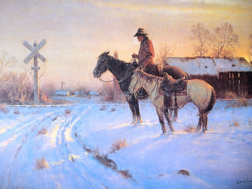 """""""The Coming Home"""" by G. Harvey, LE Print"""