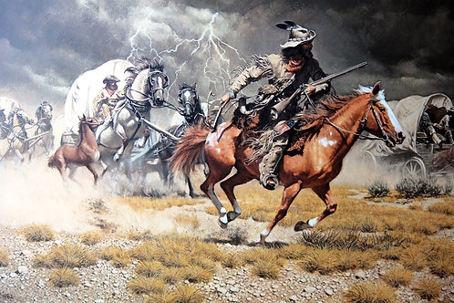 """""""Spooked"""" by Frank McCarthy LE Print"""