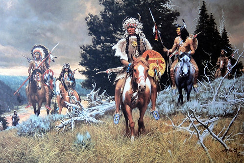 """""""Children of the Raven"""" by Frank McCarthy, LE Print"""
