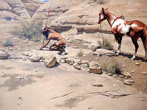 """""""Apache Scout"""" by Frank McCarthy, LE Print"""
