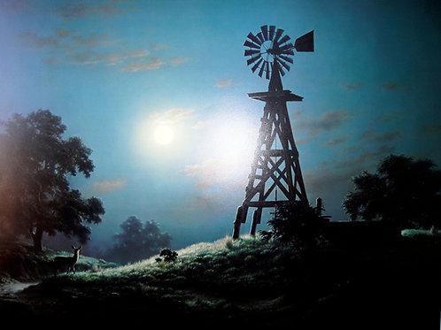 """Nighttime Repose"" by Dalhart Windberg, LE Print"