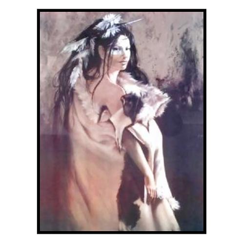 The Elkskin Robe by Penni Anne Cross