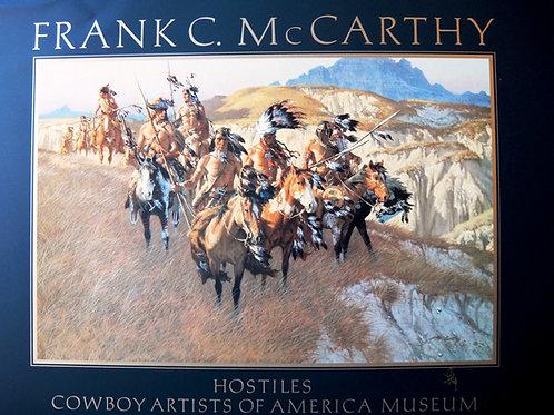 """Hostiles"" a Frank McCarthy Poster"