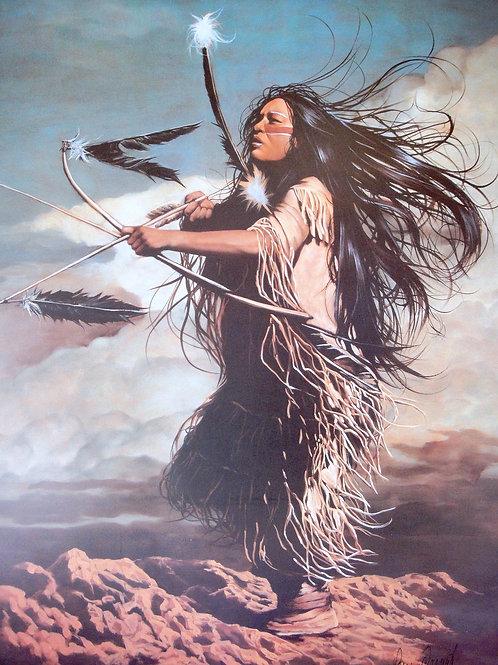 """Dance Apache"" by Penni Anne Cross LE Print"