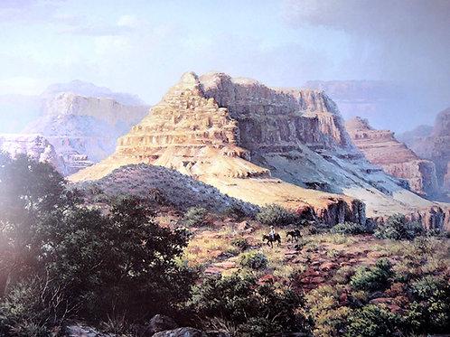 """Canyon Gold"" by Dalhart Windberg, Art Print"