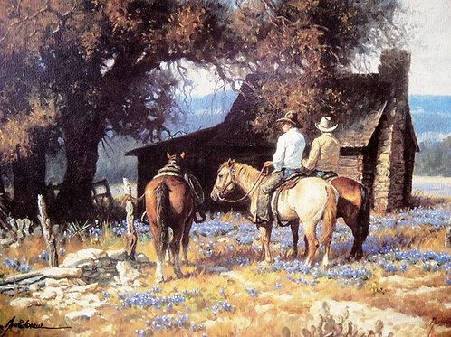 """""""Burning Daylight"""" by Martin Grelle, LE Print"""