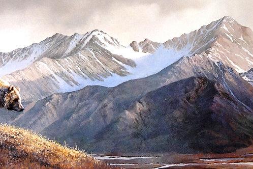 """""""Above the Glaciers"""" by Bonnie Marris, LE Print"""