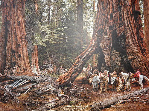 """""""In the Land of the Giants"""" by Paul Calle LE Print"""