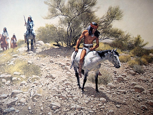 """""""Apache Trackers"""" by Frank McCarthy, LE Print"""