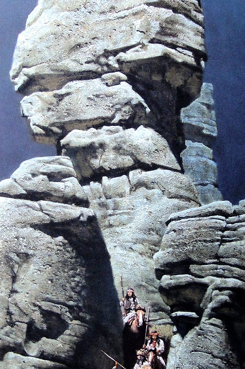 """Chiricahua Raiders"" by Frank McCarthy, LE Print"