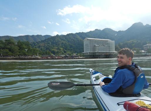 ここからの眺めが、好き!/MIYAJIMASEAKAYAK (宮島シーカヤック)/宮島観光/厳島神社・大鳥居