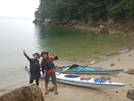 私達だけのプライベートビーチ(^^)