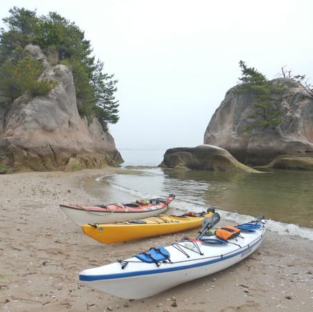 2021!宮島を海からシーカヤックで楽しもう!宮島観光を感染対策しながら楽しもう!海や山を一日一組限定でご案内!