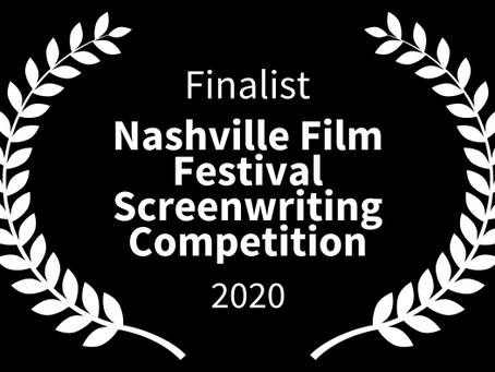 Finalist in Screenwriting Competition