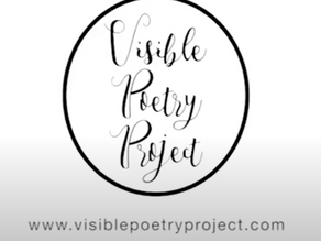 Panelist for Visible Poetry Project