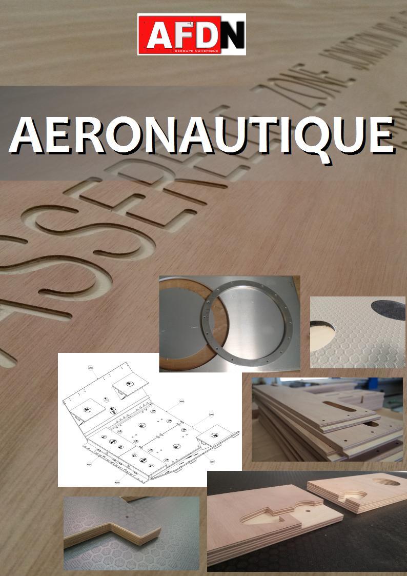 PLAQUETTE - aeronautique