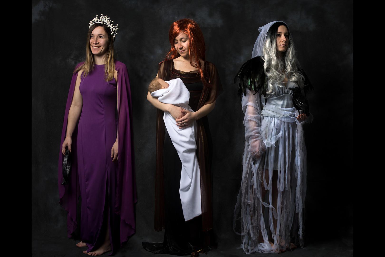 Three Goddesses