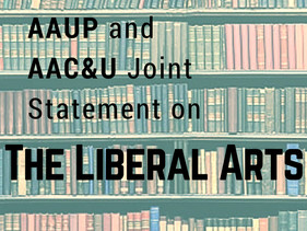 AAUP and AAC&U Joint Statement on Liberal Arts Published May 31, 2018