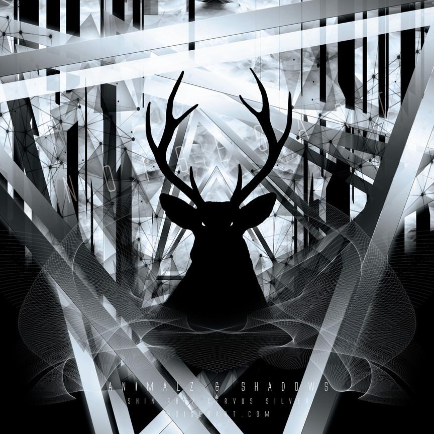 CERVUS SILVER BLACK by Shin