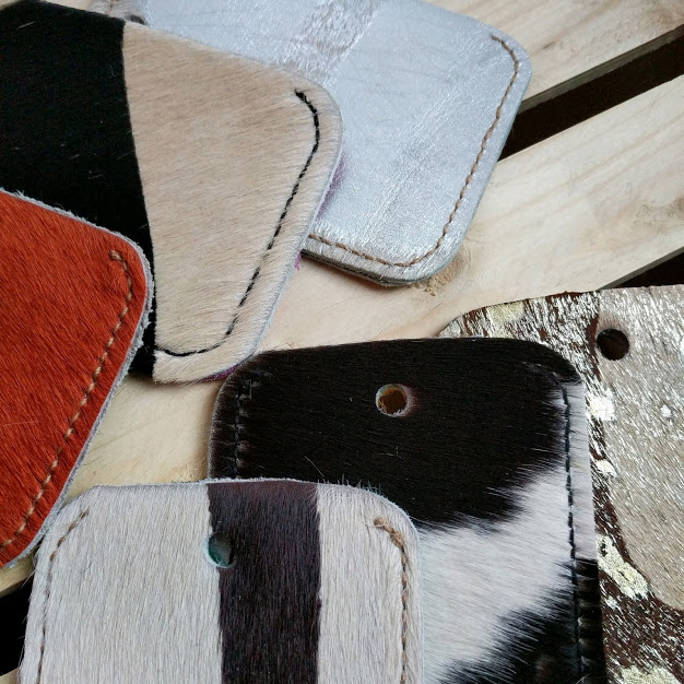 Cowhide cases