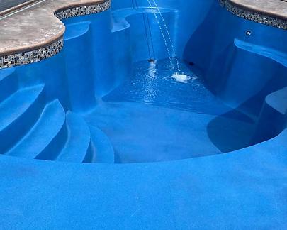 Restored Fiberglass Pool