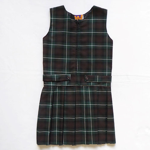 Truro High School Tartan Pinafore Dress