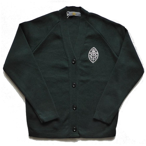 Truro High School Green Cardigan