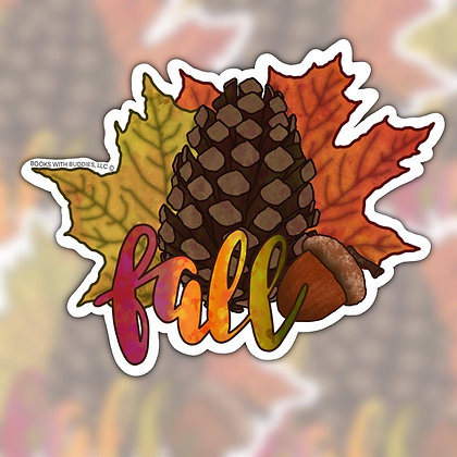 Fall Sticker