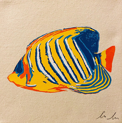 Regal Angelfish Canvas