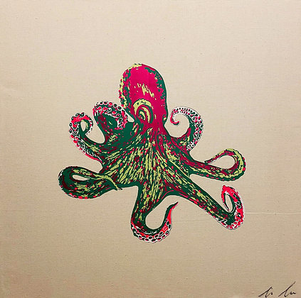 Octopus Canvas Two