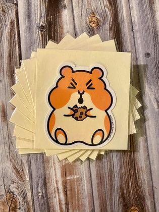 Hamster Cookie Package Sticker