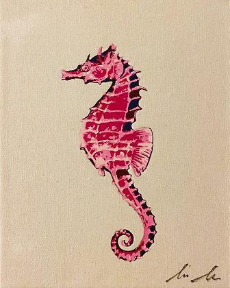 Seahorse Canvas