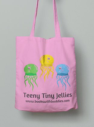 Jellyfish Reusable Tote Bag